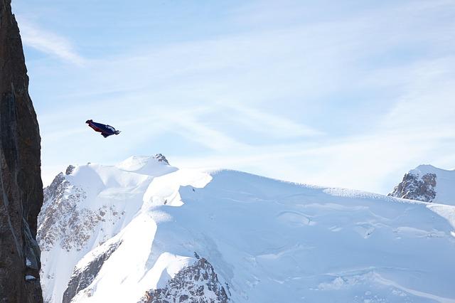 pták v horách
