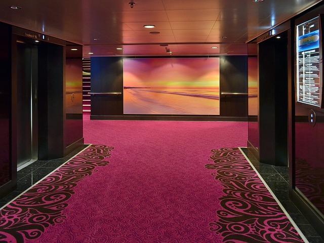 koberec v hale
