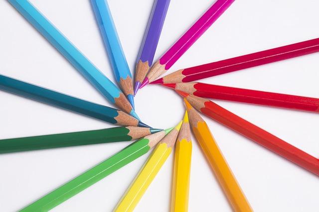 tužky v kolečku